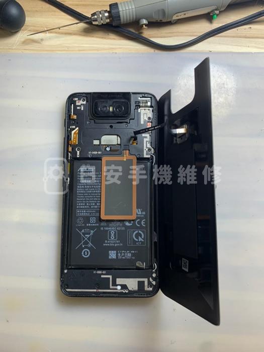 ASUS 華碩 Zenfone 6 ZS630KL 移除背蓋
