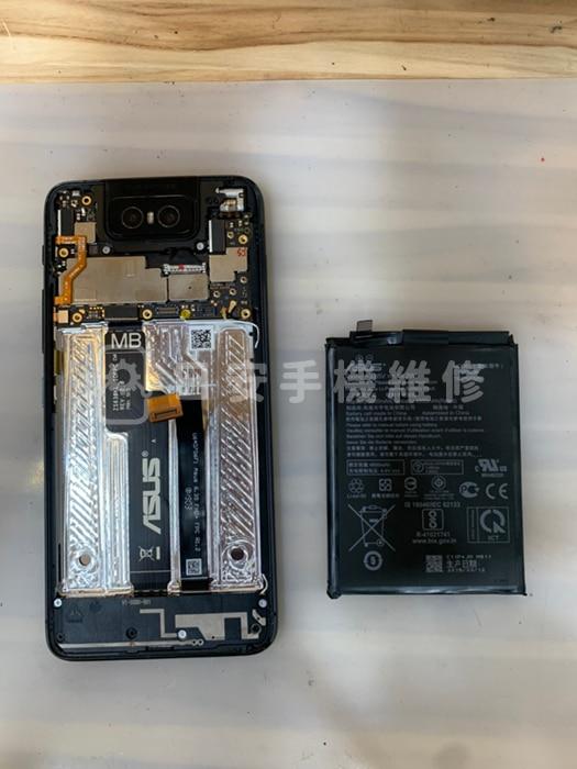 ASUS 華碩 Zenfone 6 ZS630KL 移除電池