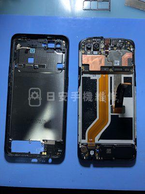 OPPO AX5s 更換螢幕,移除電池