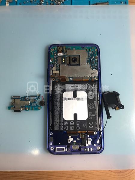 HTC U11 移除損壞充電孔