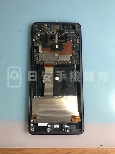 HTC U12 Plus 上螢幕及扣上新排線
