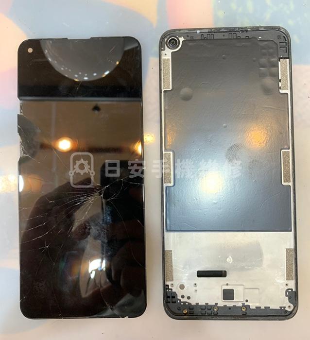 HTC U20 5G 移除損壞螢幕