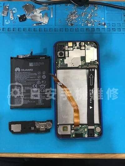 華為 nova 3i 移除電池