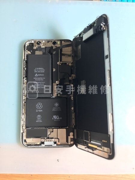 iPhone X 開啟螢幕