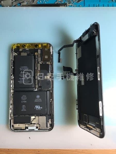 iPhone X 拆除老舊螢幕