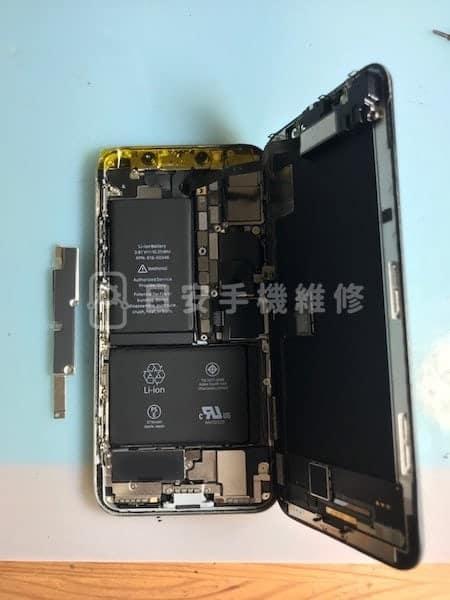 iPhone X 移除保護蓋