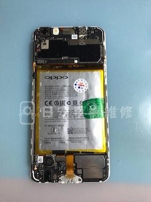 Oppo R9s Plus 貼上保固貼紙