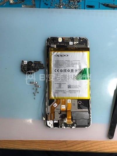 Oppo R9s Plus 拆除螺絲配件
