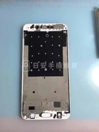 Oppo R9s Plus 拆除損壞螢幕