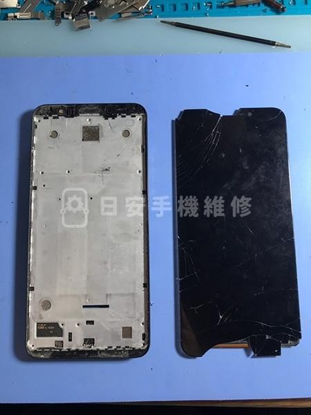 小米 紅米 5 Plus 拆除壞掉螢幕