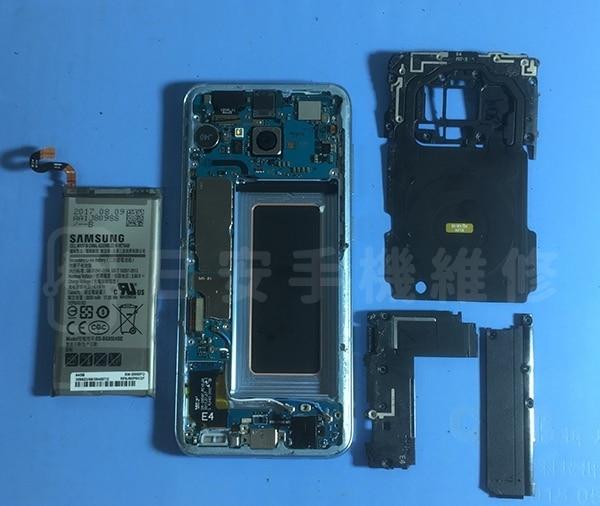Samsung S8 拆卸背蓋及相關零件