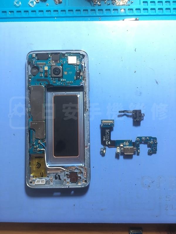 Samsung S8 拆除尾插模組