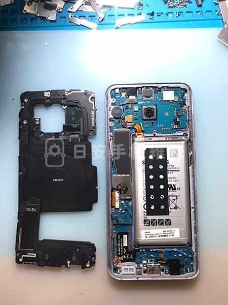 Samsung S8+ 移除保護蓋