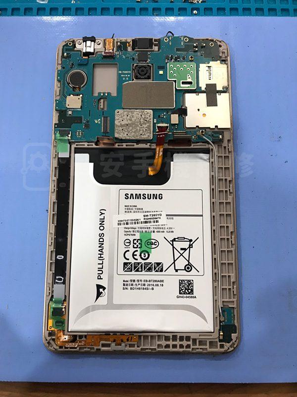 Samsung T285 拆卸平板螢幕