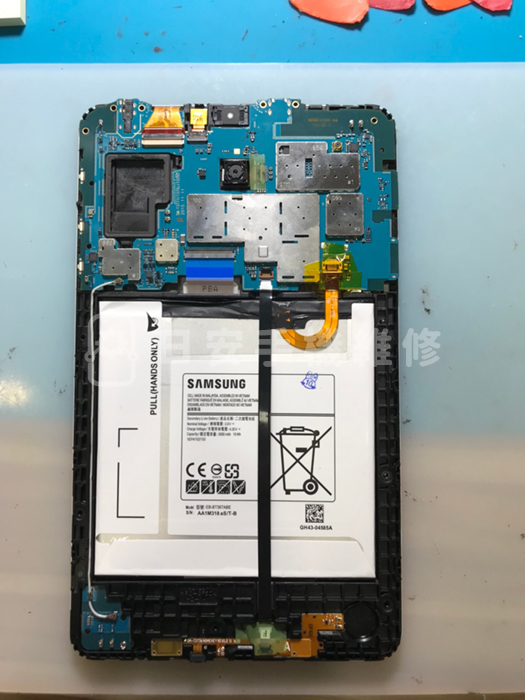 samsung T3777 回裝電池與主機板