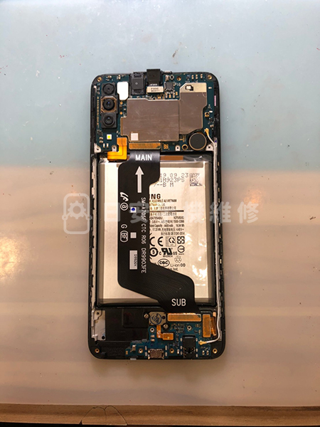 Samsung 三星 A70 回裝電池