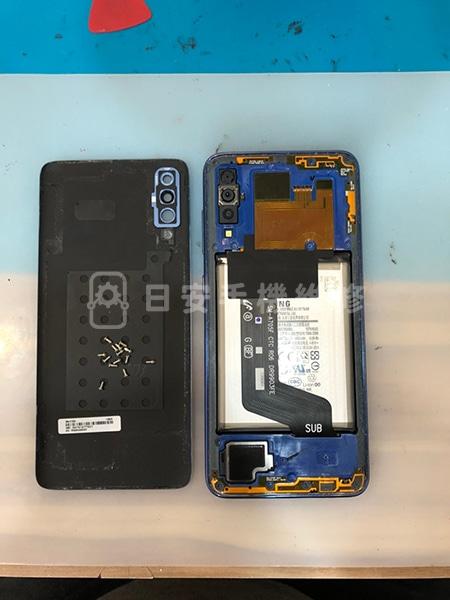 Samsung 三星 A70 拆除背蓋