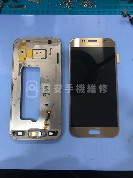 三星 S7 更換螢幕 拆卸保護蓋