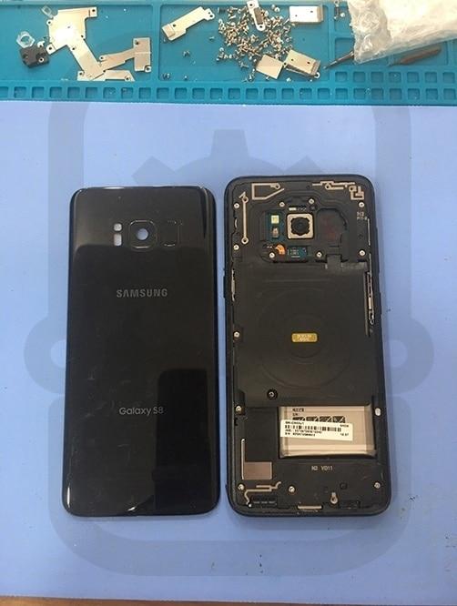 Samsung S8 拆除背蓋