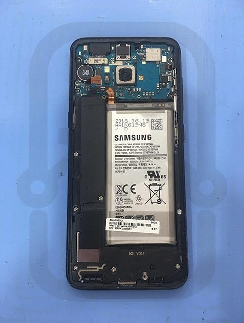 Samsung S8 拆除上蓋