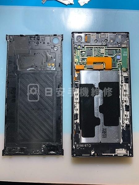 Sony XA Ultra 螢幕維修 拆卸背蓋