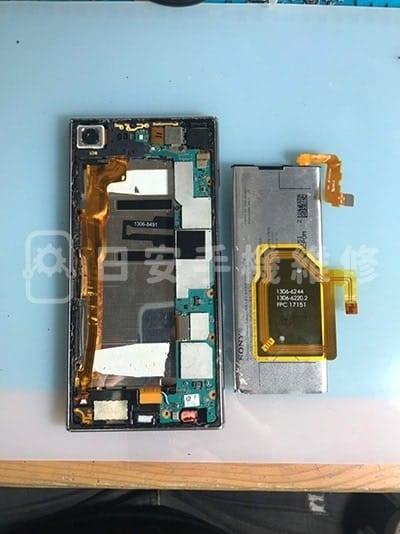 Sony Xperia XZ Premium 卸除電池