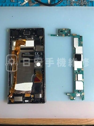 Sony Xperia XZ Premium 卸除主機板
