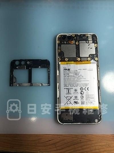 zenfone 4 ze554kl 螢幕維修 - 拆除保護蓋